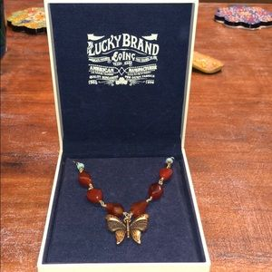 LUCKY BUTTERFLY NECKLACE!!!